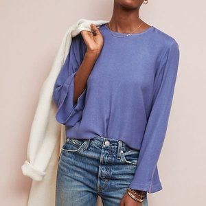 ANTHROPOLOGIE | Cloth & Stone Bell Sleeved Top